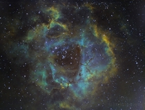 Rosette Nebula Oc  hours total exposure