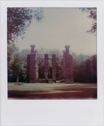 Rosewell Mansion shot on a Polaroid SX-