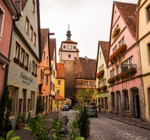 Rothenburg in Germany one of my favorite small villages