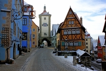 Rothenburg ob der Tauber Ansbach Germany