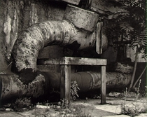 Rotted ducts Rochester  by Minor White