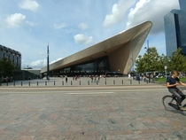 Rotterdam Central Station The Netherlands
