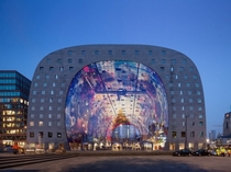 Rotterdam Markthal Market and Housing Netherlands by developer Provast
