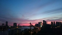 Rotterdam Skyline at dawn