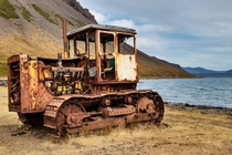 Rotting away on the shores of the Westfjords in Iceland