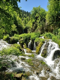 Roughlock Falls in Spearfish Canyon South Dakota