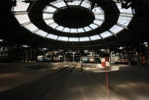 Roundhouse in Charleville-Mzires France