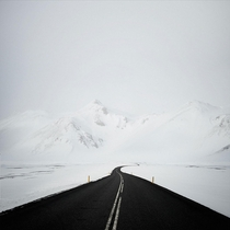 Route  Iceland  repost from rminimalism