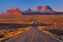 Route  Monument Valley Utah  photo by Valery Shcherbina