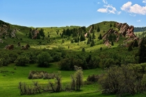 Roxborough State Park CO