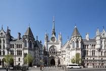 Royal Courts of Justice London Built in