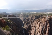 Royal Gorge Bridge Colorado USA - highest in the world from  to