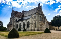 Royal Monastery of Brou Bourg-En-Bresse France by the will of Marguerite of Austria