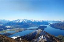 Roys Peak in Wanaka New Zealand  x