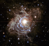 RS Puppis as imaged by Hubble