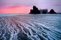 Ruby Beach at sunset WA