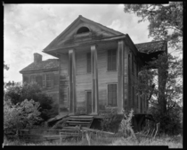 Ruined house Penfield Greene County Georgia USA photographed c via Library Of Congress
