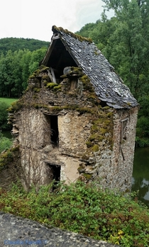 Ruined Mill in France