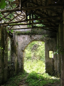 Ruins of a paper mill dating from as far back as the th century Campania Italy Photo by Jeff Kerwin