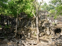 Ruins of Beng Mealea in Cambodia