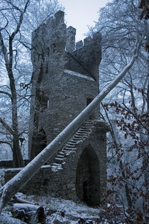 Ruins of Castle Karlsburg nearby Rheinbllen Germany By MrDevlin on flickr