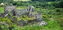 Ruins of Daniel OConnells Birthplace Cahersiveen Ireland