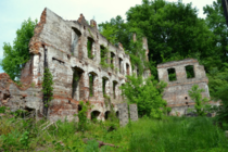 Ruins of Great Fall Mill in Rockingham North Carolina