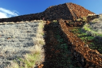 Ruins of Puukohol Heiau one of the last Ancient Hawaiian temples