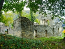 Ruins of St Johns Episcopal Church Harpers Ferry WV