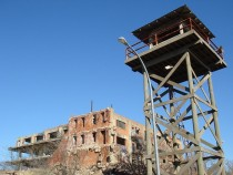Ruins of Swiss Armour Meat Packing Plant was also a set for the TV series Prison Break  Fort Worth Stockyards Texas