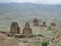 Ruins of temples at Kafir Kot Dera Ismail Khan District Khyber Pakhtunkhwa Pakistan