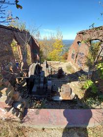 Ruins of the Mount Beacon Incline Railway Beacon NY