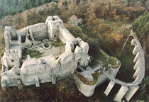 Ruins of the Neamt fortress Romania