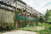 Ruins of the US Textile industry rusting away in Knoxville TN