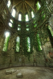 Ruins of Villers Abbey Belgium