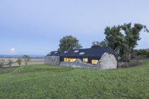 Ruins Studio a Scottish farmhouse in Dumphries by Nathanael Dorent and Lily Jencks