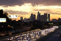 Rush hour in Los Angeles