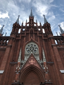 Russia Moscow Roman Catholic Cathedral of the Blessed Virgin Marys Immaculate Conception Architect - Thomas Bogdanovich-Dvorzhetsky