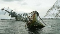Russian cruiser Murmansk wrecked in Norway the album in the comment