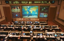 Russian ISS Control in Korolyov Moscow Oblast