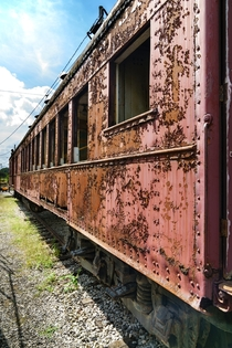 Rusted Railcar