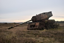 Rusted tanks in Germany
