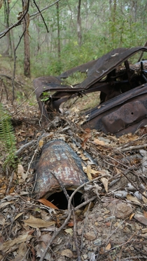 Rusted Wrecks at Mt Coot-tha Brisbane  Album in comments