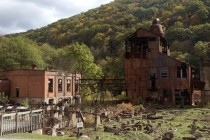 Rusty Lumber Mill at Cass Mountain WV