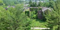 Ryon Hall at an insane asylum demolished