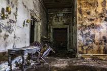 s Abandoned Funeral Home Lobby