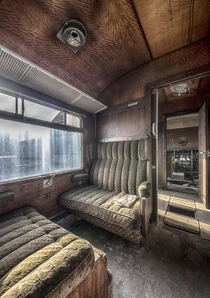 s Era Abandoned Orient Express Train