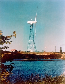 s era -kilowatt experimental wind turbine at Plum Brook Station in Sandusky Ohio