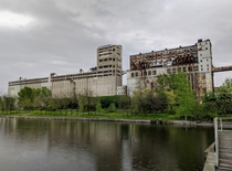 s Malting Complex in Montreal Canada Abandoned