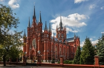 Sacred Heart Church Samara Russia
